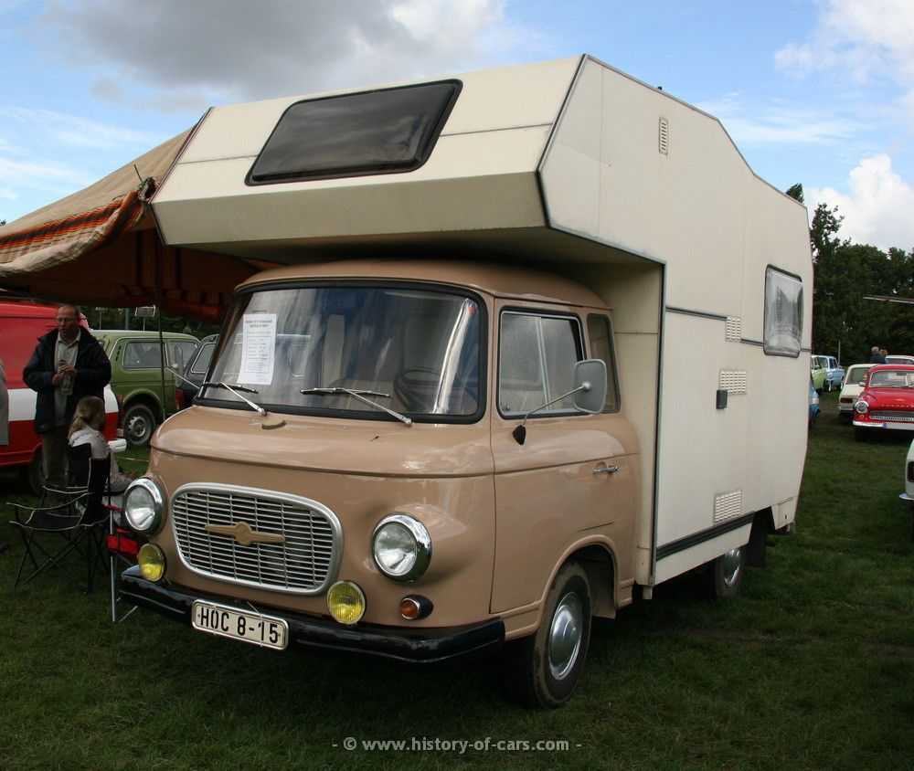 barkas 1977 b1000 camper the history of cars exotic cars customs motorhome. Black Bedroom Furniture Sets. Home Design Ideas