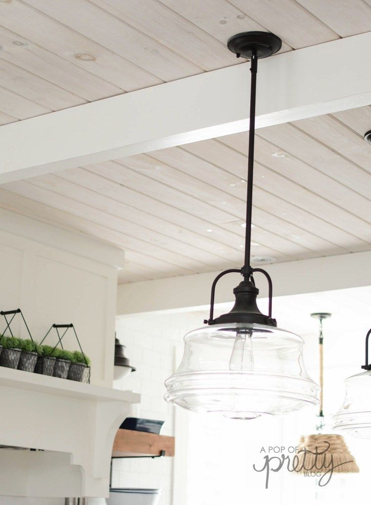 How to White Wash Shiplap and Wood: Step by Step T