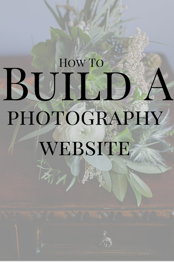 How to build a photography website with instructions on domains, hosting, website platform services, tips for creation and more.