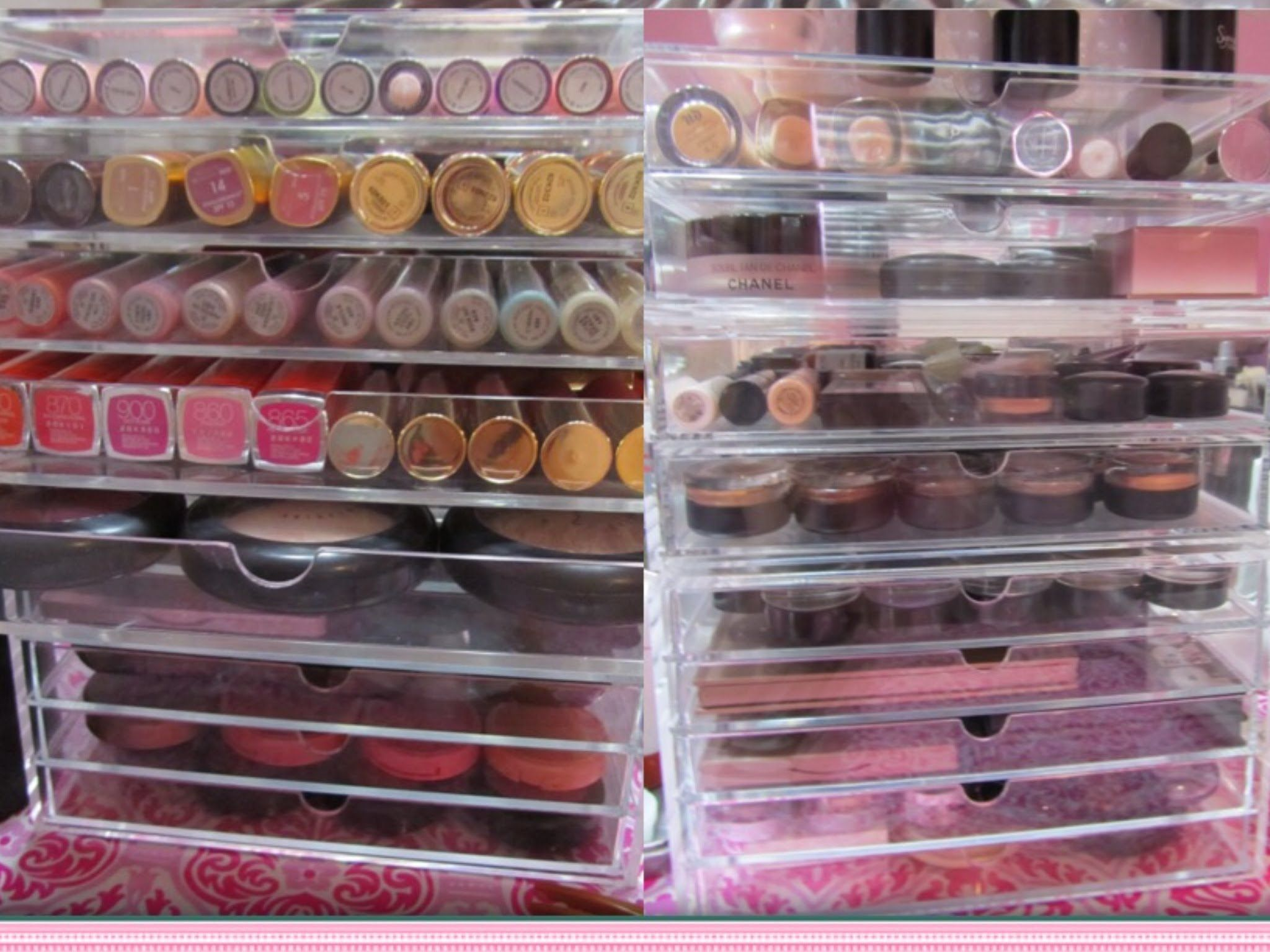 Muji Makeup Organizer Prepossessing My 2015 Makeup Collection And Storage  Makeupjewelry Storage For Inspiration