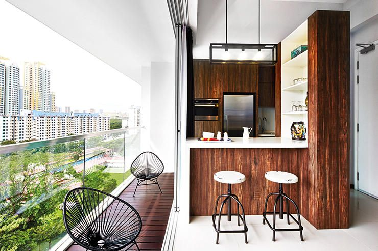 6 creative things to do with a hdb flat 39 s balcony for Balcony ideas singapore