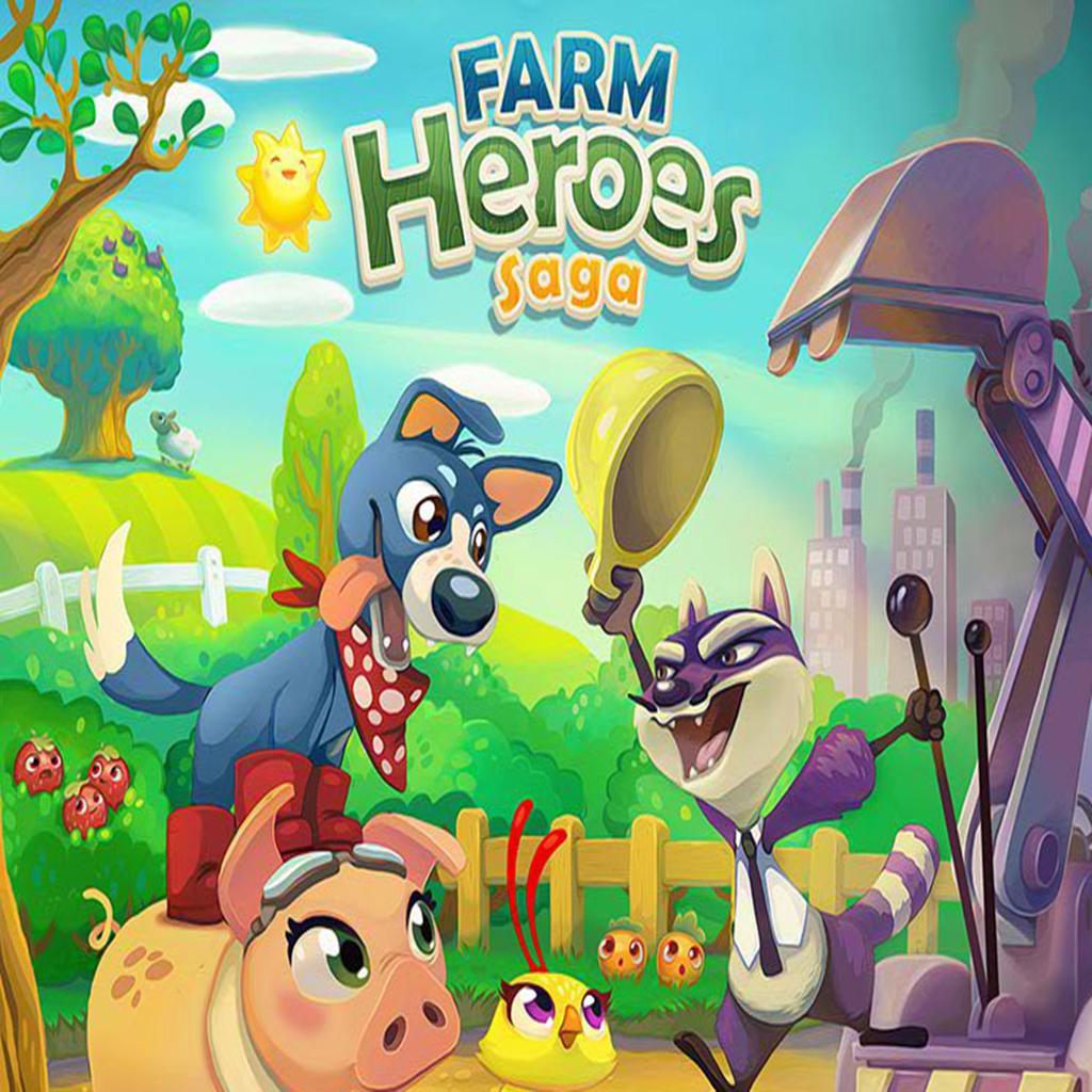 Farm Heroes Saga mosse infinite Farm hero saga, Farm