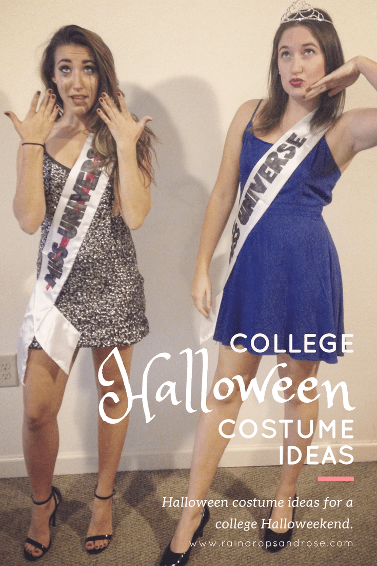 college halloween costume ideas- costumes ideas for a halloweekend