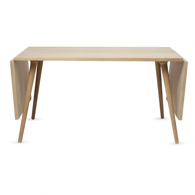 Clap spisebord fra Via Cph. 140 x 79 + 2 ekstra plader 50 cm ...