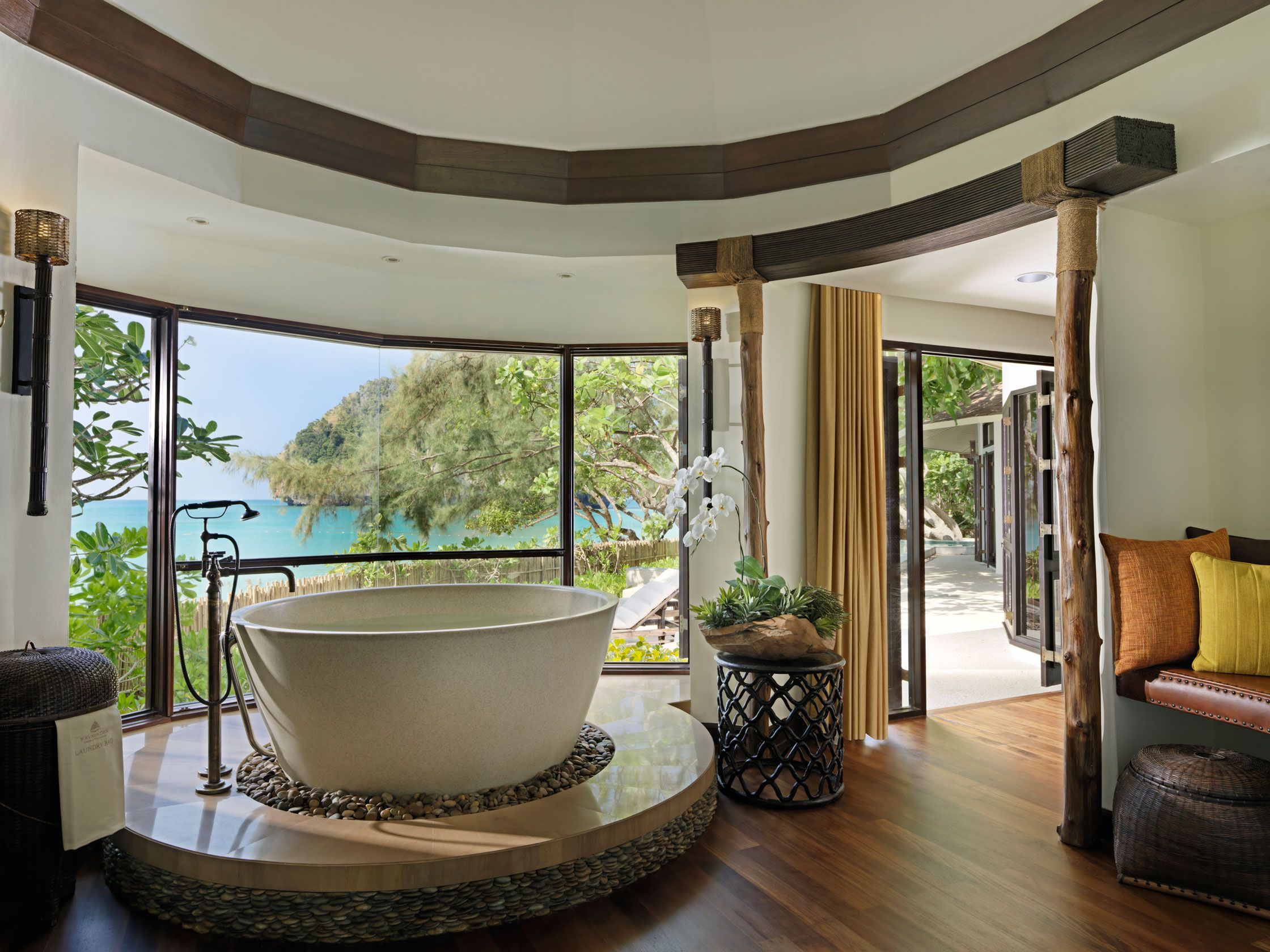 The Rayavadee Villa Master Suite Bathroom