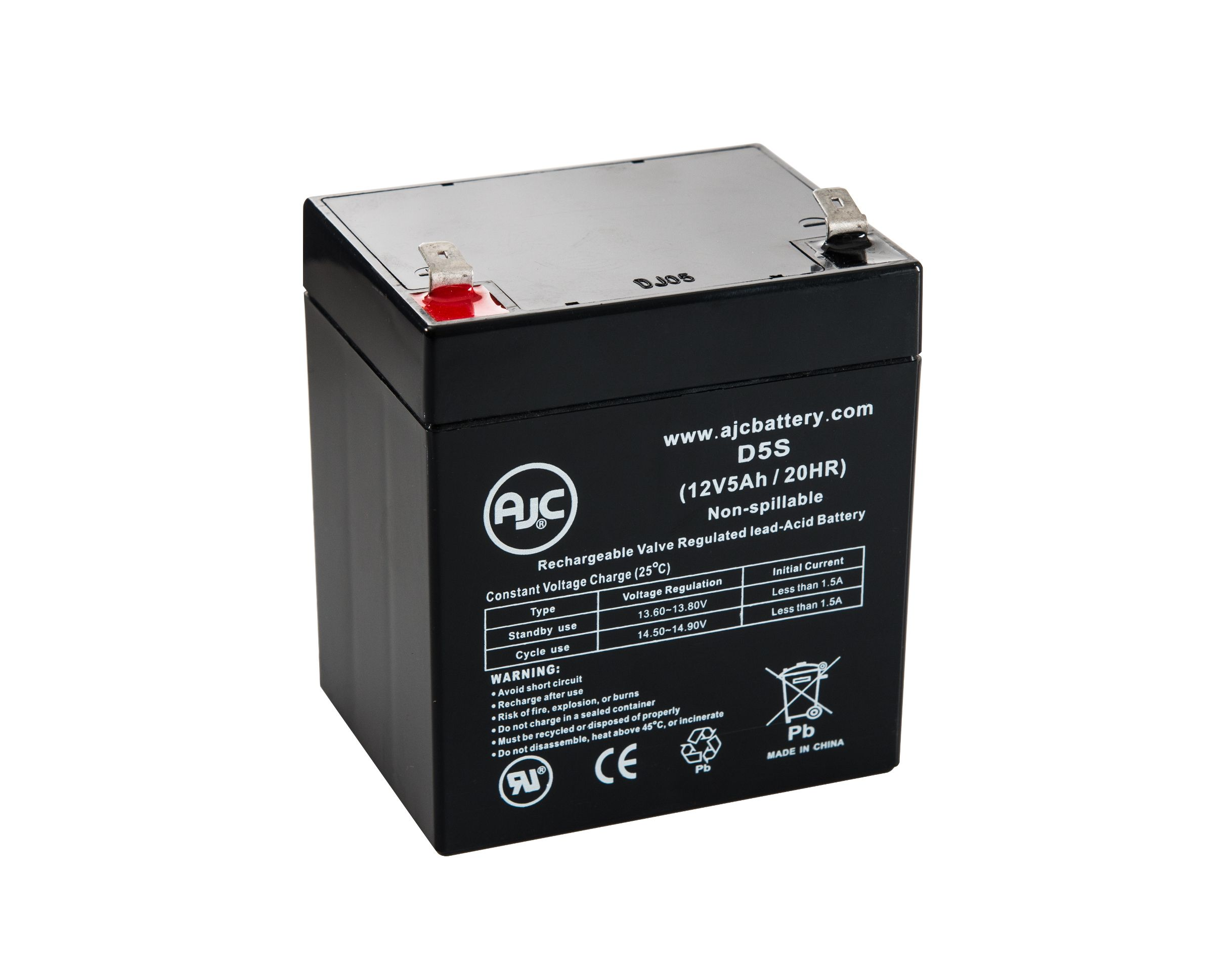 This is an AJC Brand Replacement Alpha Technologies CFR2500 12V 18Ah UPS Battery