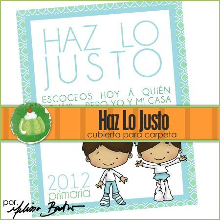 Freebie Friday: Haz Lo Justo | Primary Choose the Right 2012/2017 ...