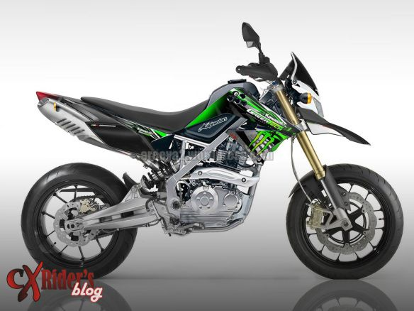 Motorcycle - Kawasaki KLX