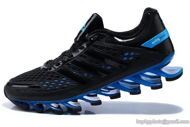 Men's Adidas Springblade Razor Running Shoes A Black Blue