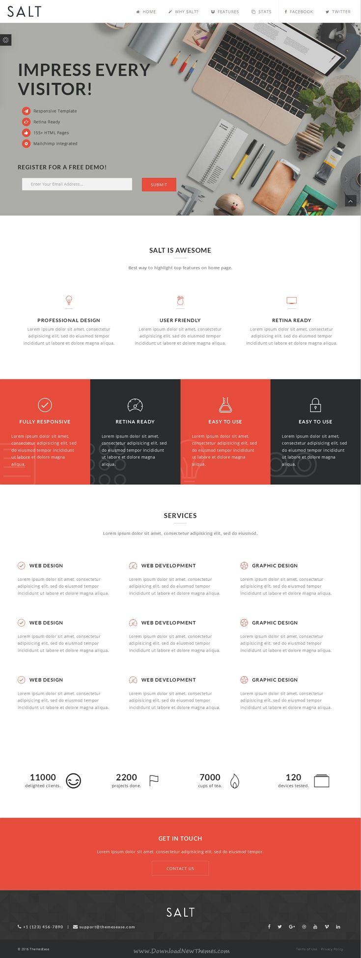 40+ Beautiful Flat Web Designs for Your Inspiration | webdesign ...