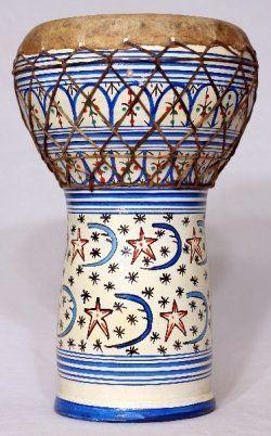A ceramic doumbek