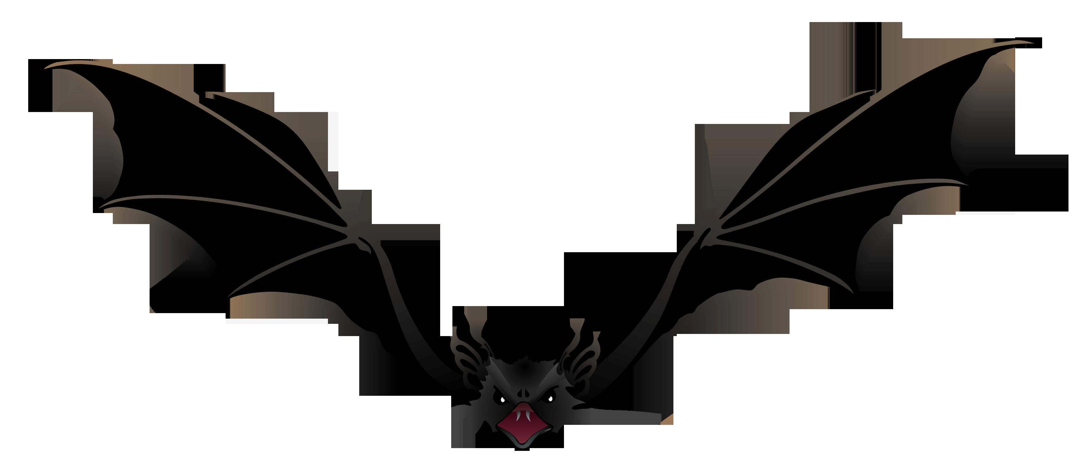 Creepy Bat Png Picture Png 3504 1529