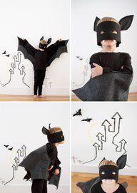 Idée déguisement garçon facile à réaliser: déguisement enfant Batman le vrai!