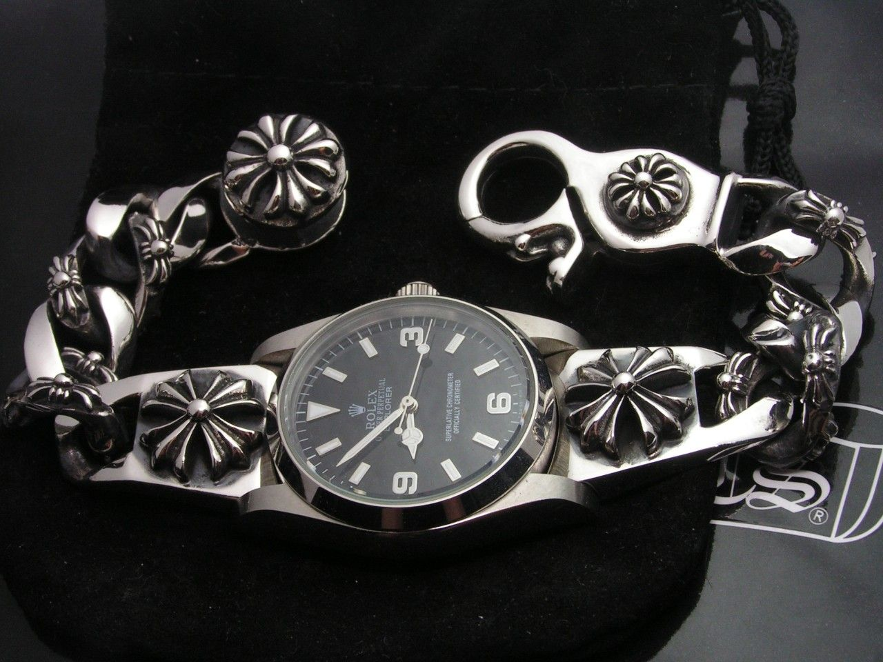 7bf6b6456aea Rolex x Chrome Hearts