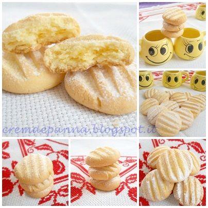 Crema e panna: Biscottini con tuorli sodi gluten free