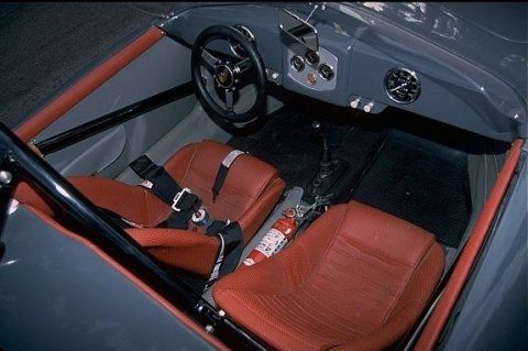 1954 porsche 356 roadster outlaw vintage racer interior wheely pinterest porsche 356. Black Bedroom Furniture Sets. Home Design Ideas