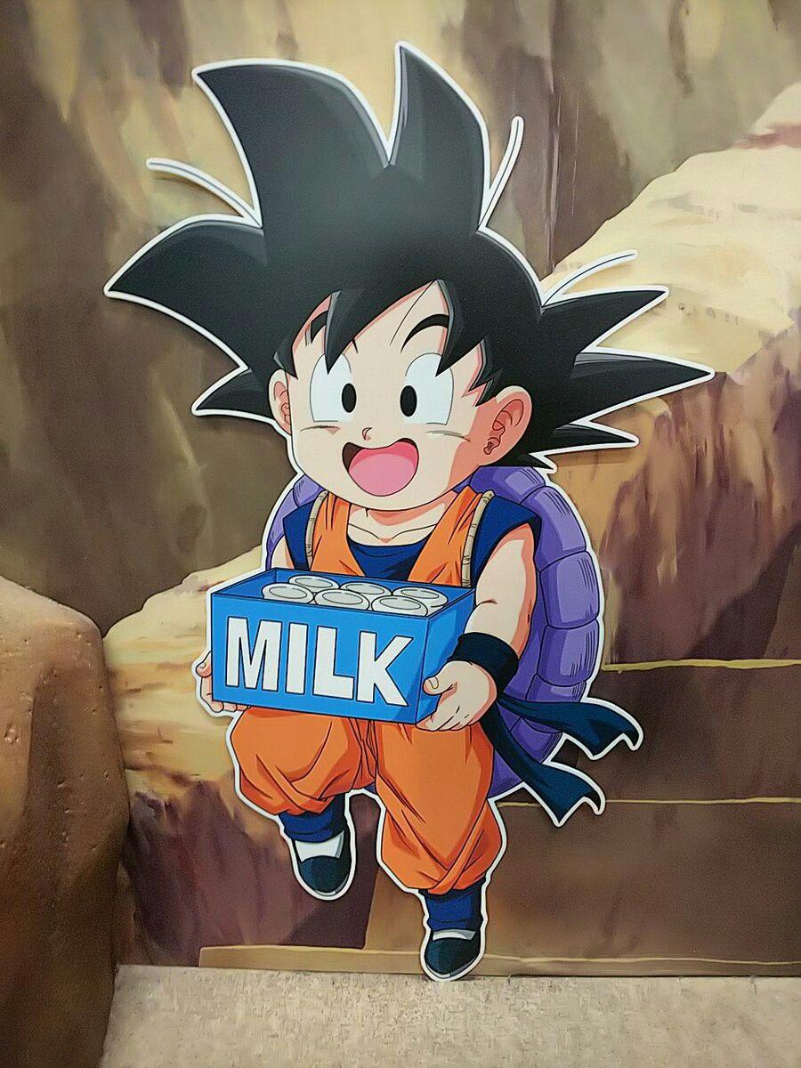 Goten Undergoing The Same Training Goku Went Through As A Kid Under Master Roshi Dragon Ball Artwork Anime Dragon Ball Dragon Ball Goku