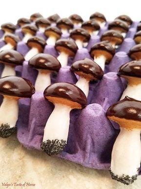Mushroom Cookies Recipe - Valya's Taste of Home