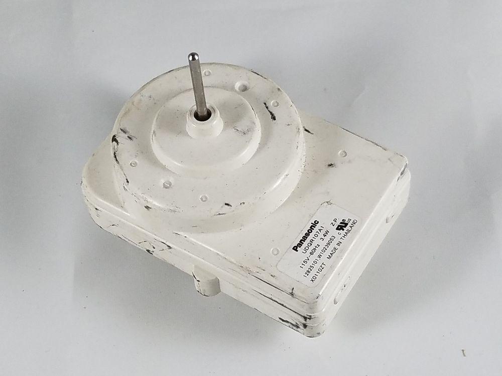 W10239053 Whirlpool Maytag Roper Sears Kenmore Refrigerator Condenser Fan Motor Whirlpool Fan Motor Ebay Kenmore Refrigerator