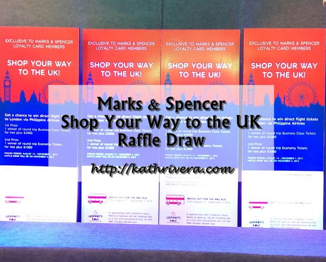 Marks Spencer Shop Your Way To The Uk Raffle Draw With Images