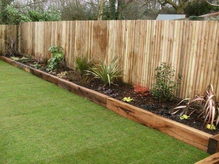 20 Beautiful Garden Border Ideas To Dress Up Your Landscape Edging Garden Gardenborders In 2020 Wooden Garden Edging Backyard Garden Design Garden Landscaping Diy