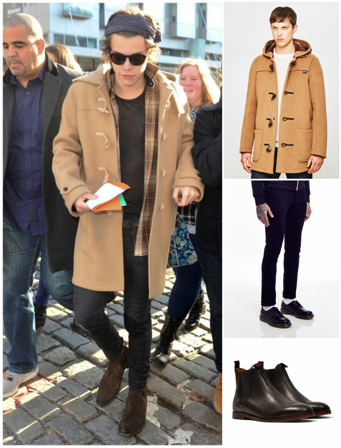 How to Wear a Duffle Coat | Duffle coat, Outfit shop and Harry styles