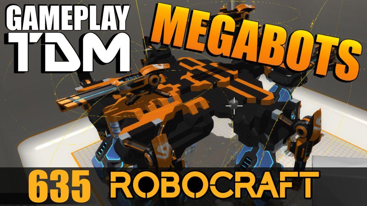 'Walking Castle' 6 Legged MEGABOT SMG TDM Gameplay