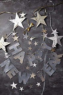 Anthropologie - Happy New Year Garland - 2014 is going to be a great year!