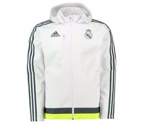 ef70004fbb1b6 Campera Real Madrid Travel Adidas Entrenamiento 2015-2016 Mercado Libre