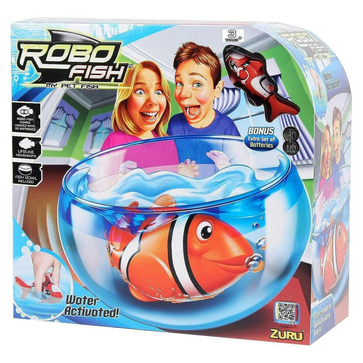 Robo Fish Is A Remote Controlled Battery Operated Fish With Bowl