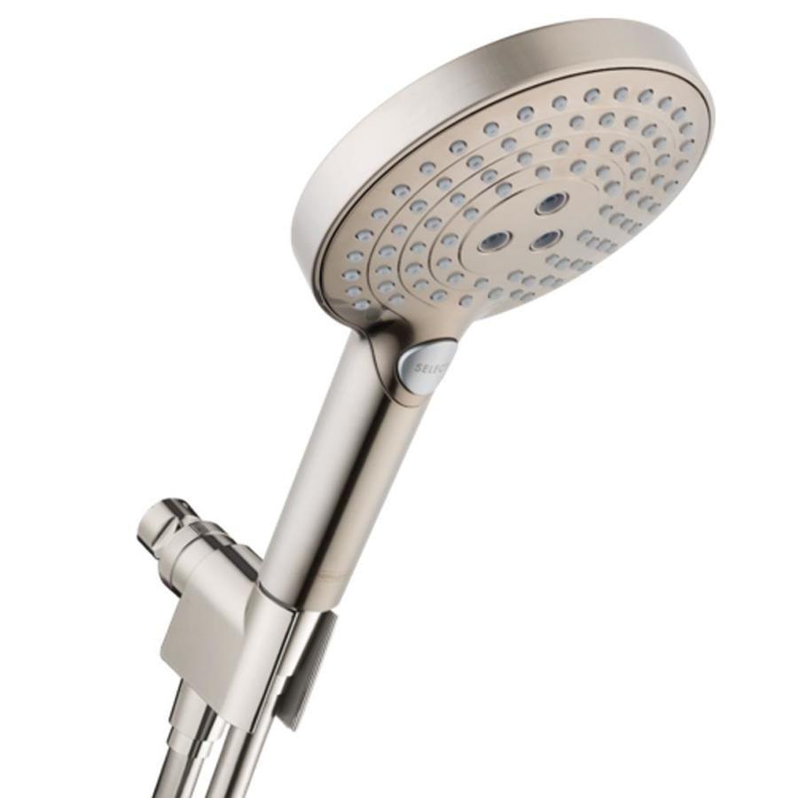 Hansgrohe Raindance Select S Brushed Nickel 3 Spray Rain Shower