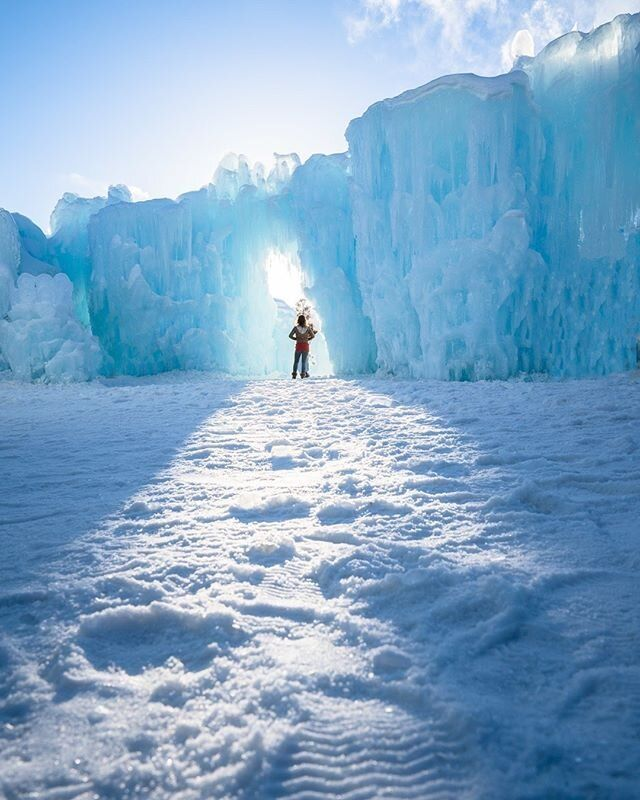 New Hampshire — Ice Castles In 2020