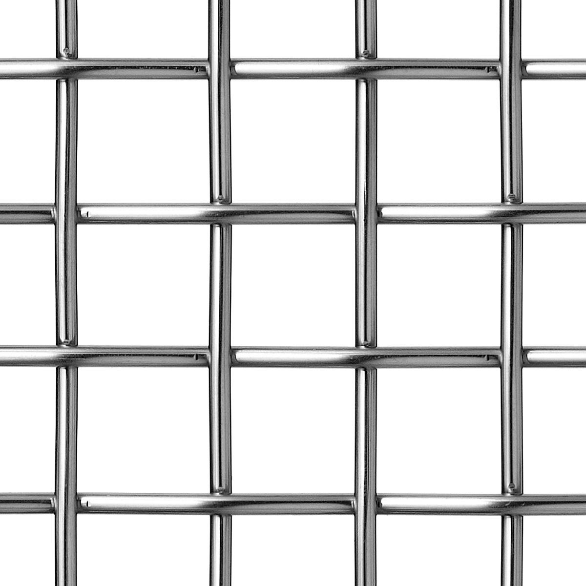 Banker Wire Mesh P-278 is a plain crimp, square mesh of 4mm diameter ...