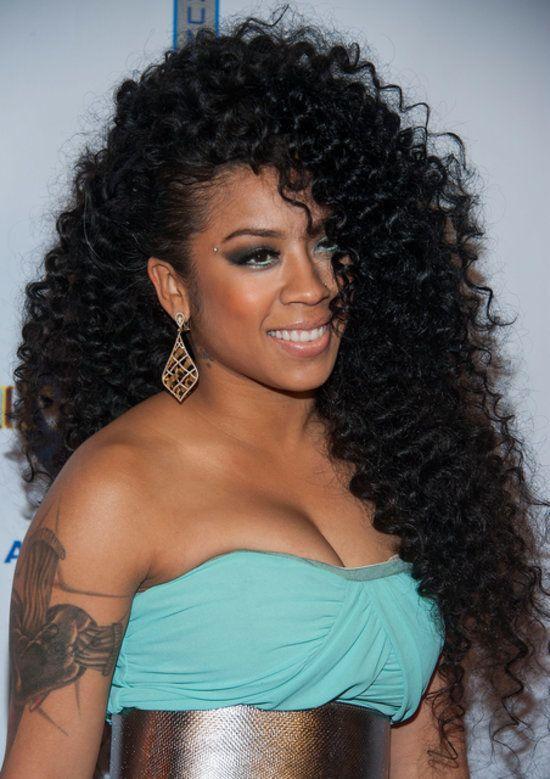 Keyshia Cole There Was No Shortage Of Curls For Keyshia