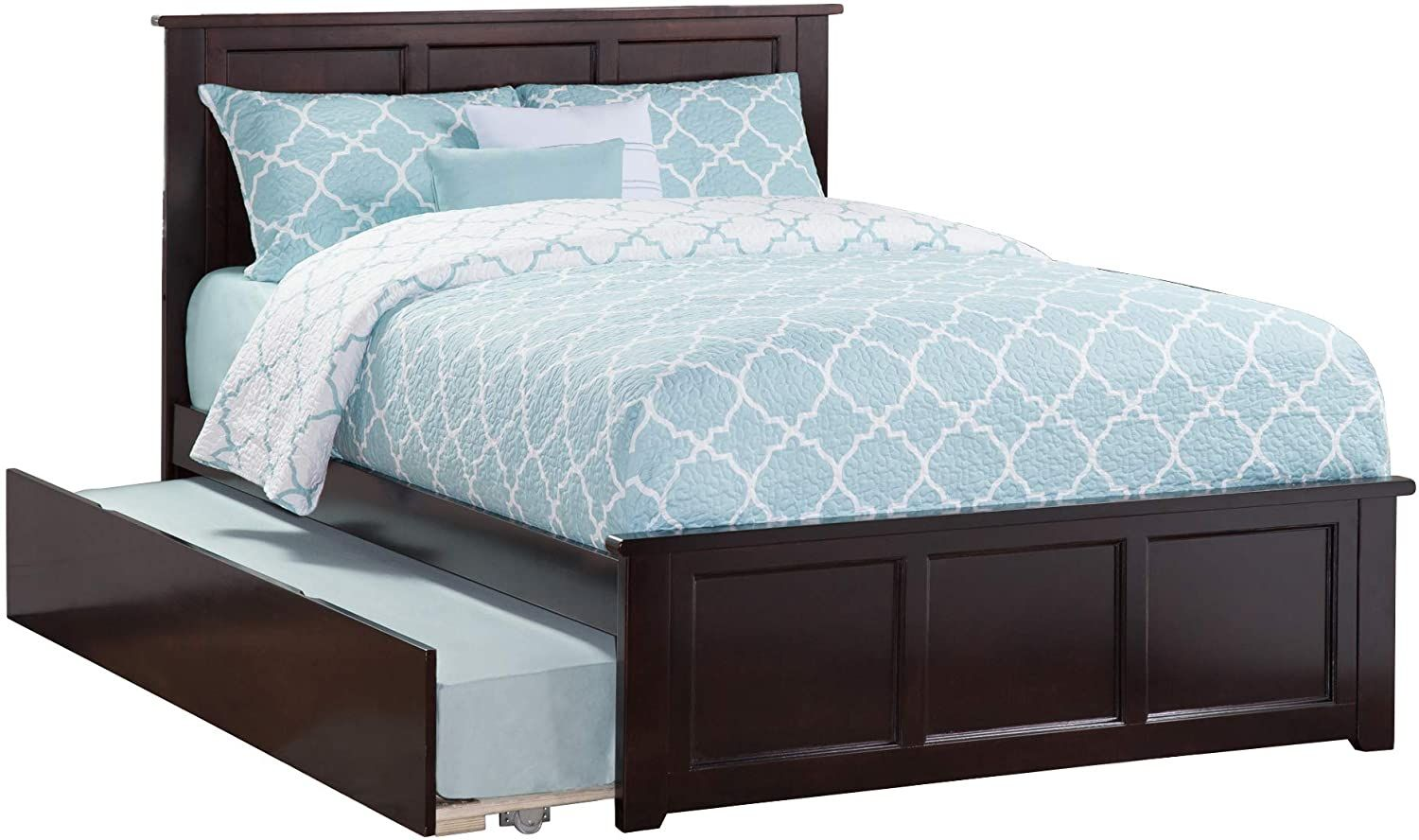 Atlantic Furniture Platform Bed with Matching Footboard