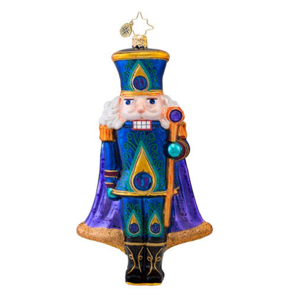 S more ornaments - Christopher Radko Ornaments 2014 Radko Sugar Plume Nutcracker Ornament