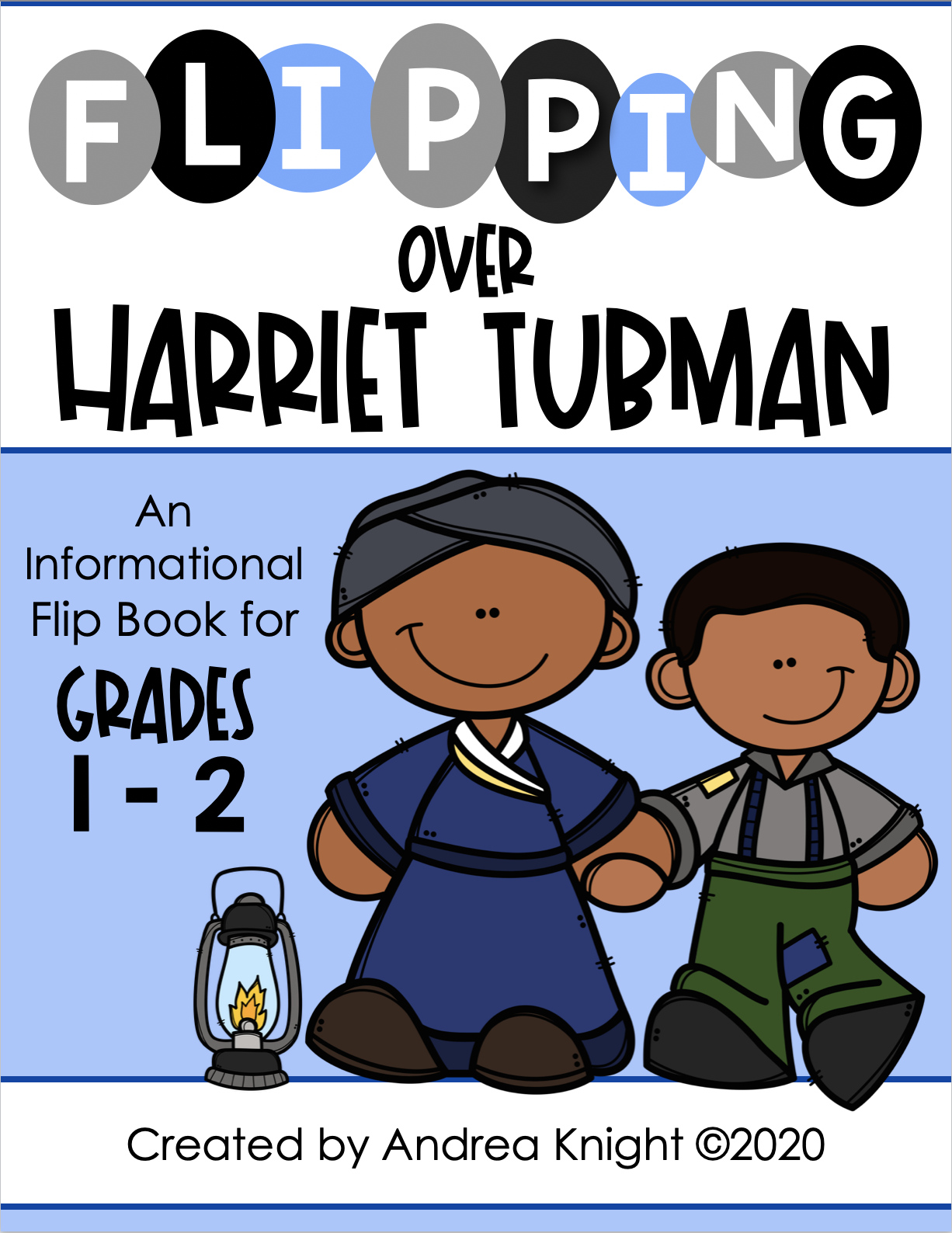 Harriet Tubman A Biography Flip Book Project For Grades 1