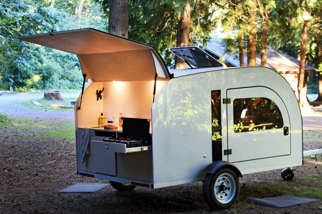 A scandinavianinspired lightweight trailer for minimal