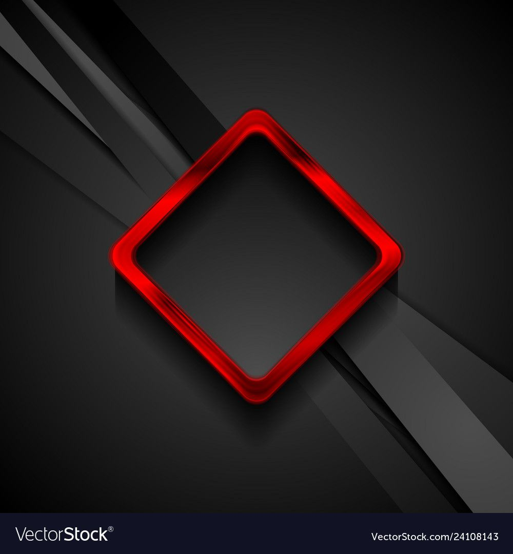 Black Stripes And Red Glossy Square Frame Abstract Poster Background Design Luxury Background Luxury Design Graphic