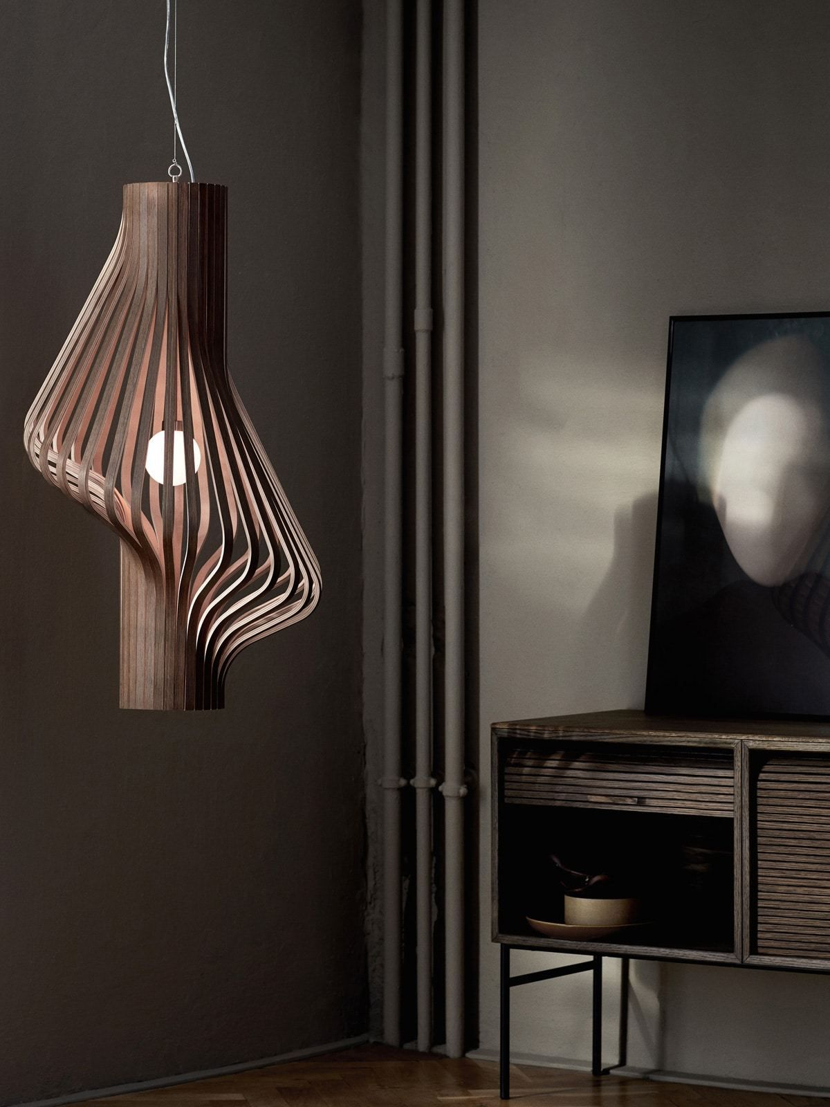 Design Holzlampe Diva In 2019 Lampen Aus Naturmaterialien Natural Materials