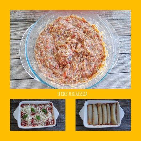 Cannelloni Di Verdure Senza Besciamella Ricette Primi Piatti Di Pasta Verdure