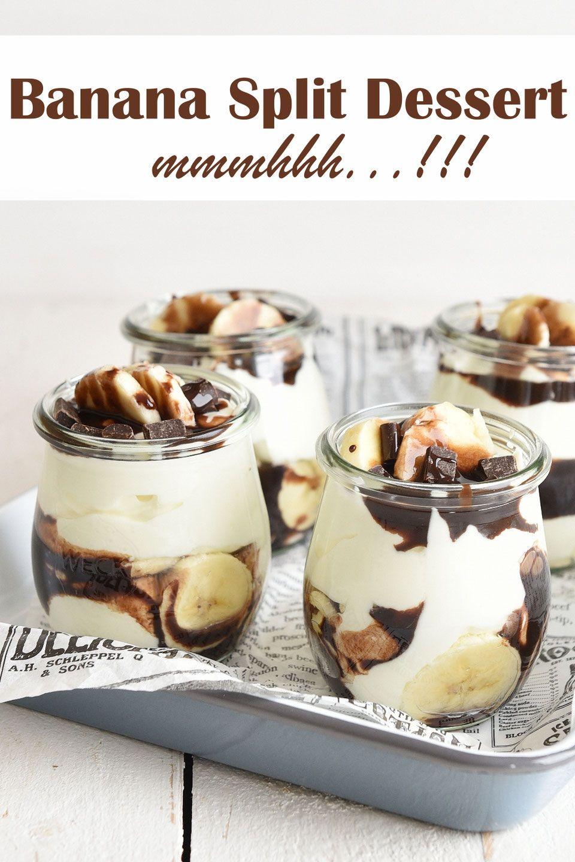 Banana Split Dessert. Mmmhhhh...!