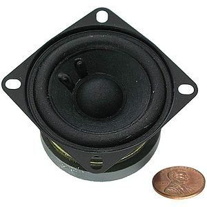 Mini Hobby Speaker - 2 inch 4 Ohms by CES. $2.29. Great hobby projects mini-speaker! Just hook up your siren, AM/FM radio, and other electronics projects!