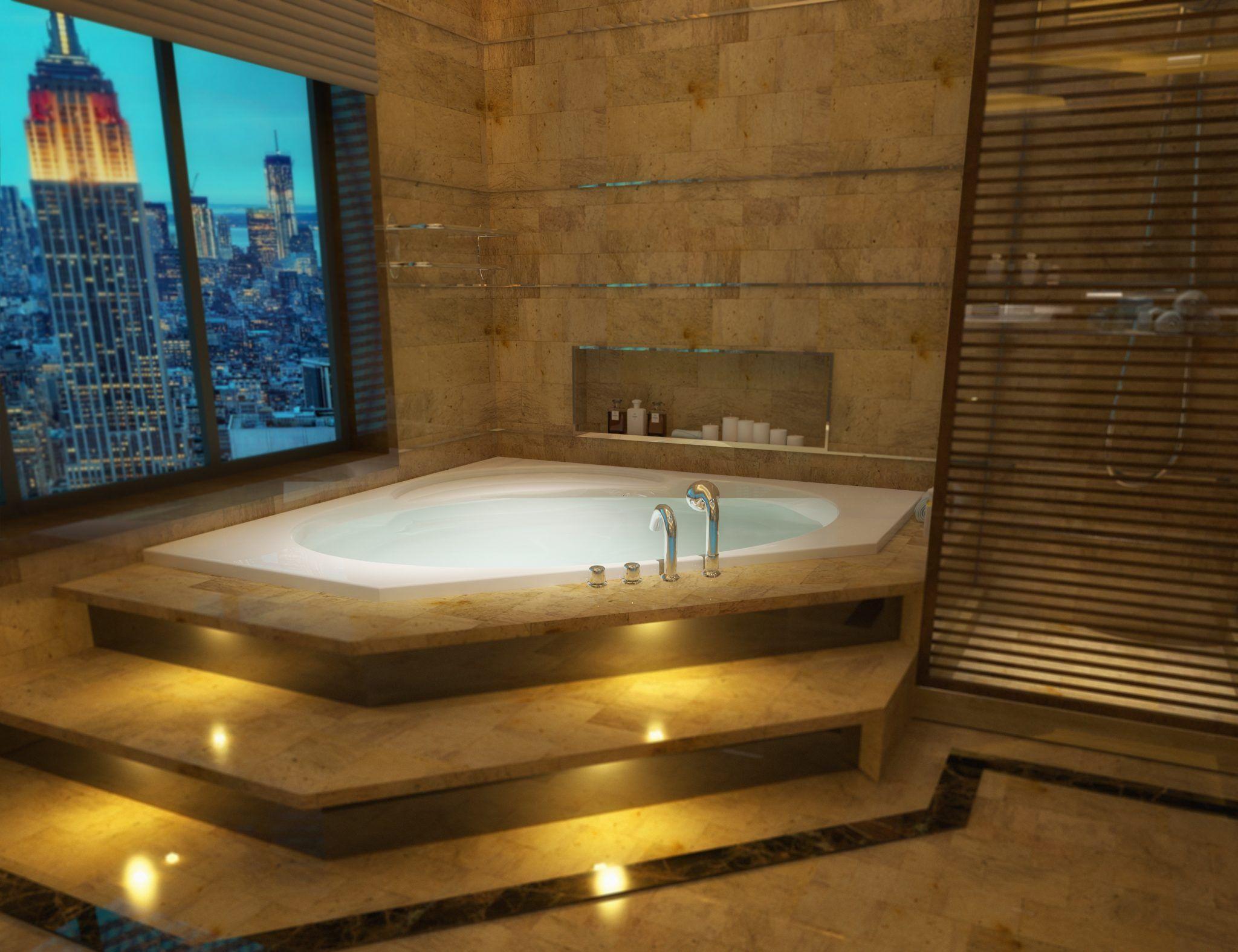 48x48 Corner Tub Br 49 Bathtubs Com Corner Tub Bathroom Design Big Baths
