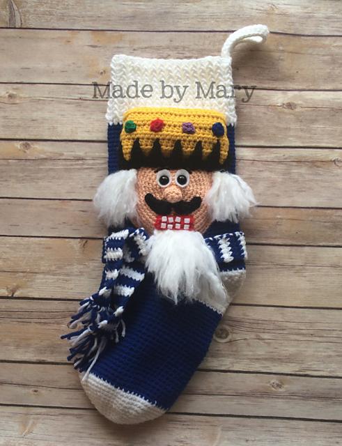 Nutcracker Stocking pattern by Mary Smith | Weihnachtsfiguren und ...