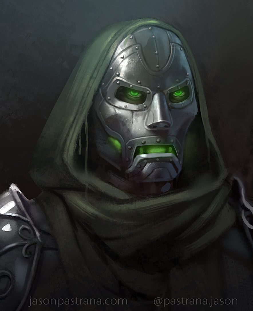Doctor Doom Wallpaper And Teaser Illustration For Marvel Contest Of Champions By Charles Chen Ge In 2020 Deadpool Comic Marvel Villains Marvel Champions