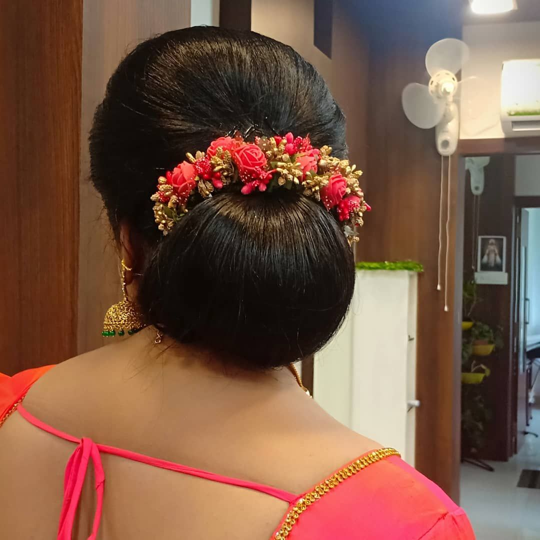Instagram Post By Brides Of Shiji Aug 19 2019 At 6 11am Utc Bridal Hair Buns Bridal Hairdo Wedding Bun Hairstyles