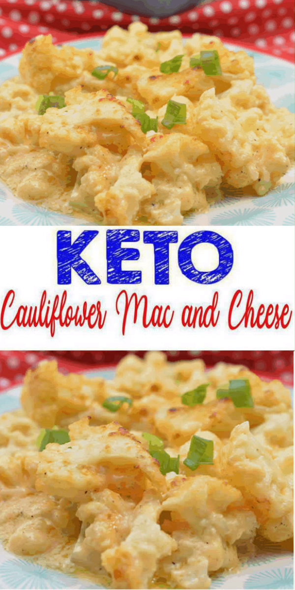 EASY Keto Cauliflower Mac and Cheese! Low Carb Mac & Cheese Idea – Quick – Healthy – Baked Ketogenic Diet Recipe – Completely Keto Friendly images