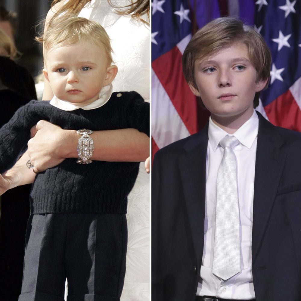 Donald Trump's Youngest Son Barron Trump Looks So Grown Up At Election Night