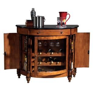 Howard Miller 695-016 Merlot Valley Wine & Bar Cabinet